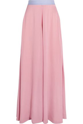 ROKSANDA Leighton silk-blend muslin maxi skirt