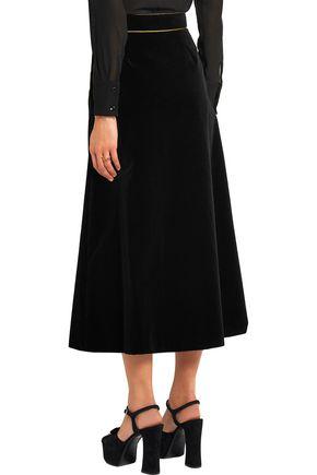 SAINT LAURENT Velvet skirt