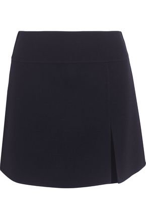 MICHAEL KORS COLLECTION Wool-blend crepe mini skirt