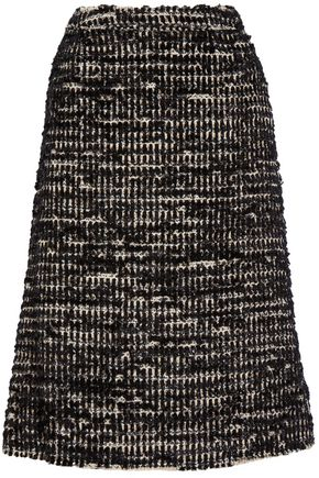 SIMONE ROCHA Metallic tweed midi skirt