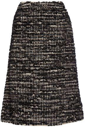 SIMONE ROCHA Metallic tweed midi skirt