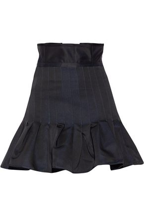 ELLERY Kyoto pleated taffeta mini skirt