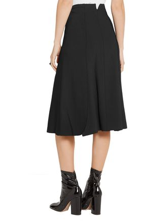 PROENZA SCHOULER Lace-up crepe skirt