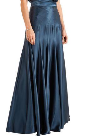 MICHAEL LO SORDO Colette silk-satin maxi skirt