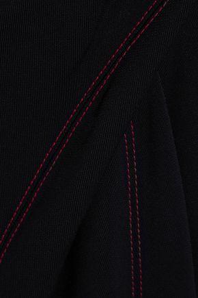 ATLEIN Draped stitched jersey skirt