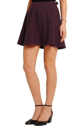 ELIZABETH AND JAMES Marina stretch-ponte mini skirt
