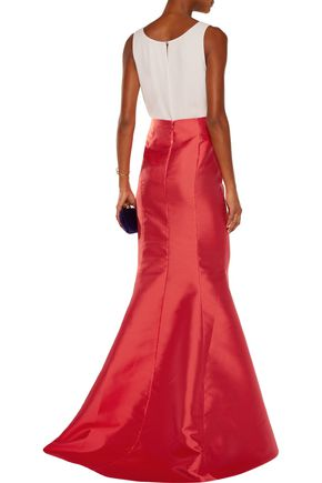 SACHIN & BABI Lexington satin maxi skirt