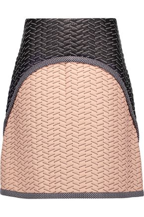 PROENZA SCHOULER Embroidered leather skirt