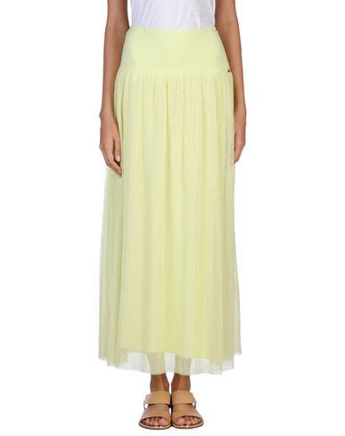 Фото - Длинная юбка от SCEE by TWINSET светло-зеленого цвета