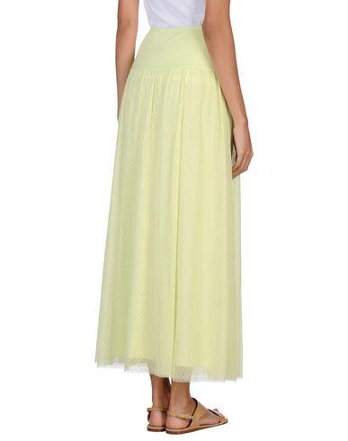 Фото 2 - Длинная юбка от SCEE by TWINSET светло-зеленого цвета