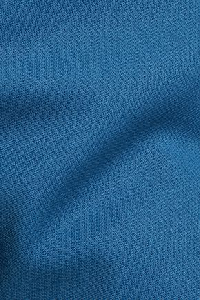 ADAM LIPPES Wool-blend crepe midi skirt