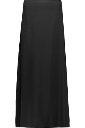 HELMUT LANG Stretch-crepe maxi skirt