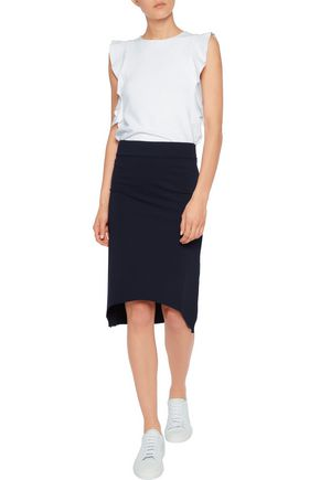 IRIS AND INK Milano stretch-knit skirt