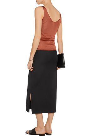 IRIS AND INK Stretch-jersey midi skirt