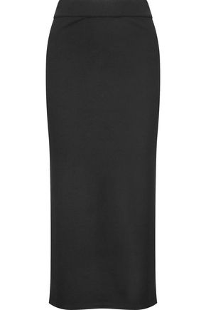 IRIS & INK Stretch-jersey midi skirt