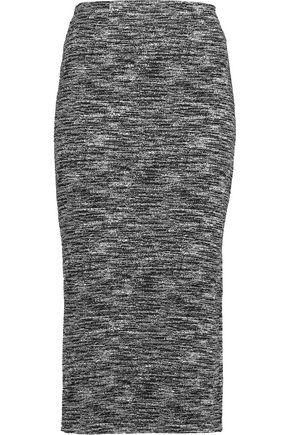 ALICE+OLIVIA Crochet-knit midi skirt