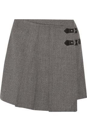 MARC BY MARC JACOBS Pleated wool mini skirt