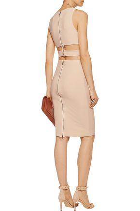 ALICE + OLIVIA Terri stretch-crepe skirt