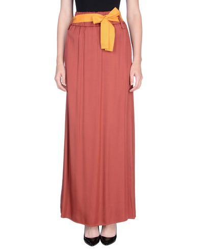 Фото - Длинная юбка от RUE•8ISQUIT кирпично-красного цвета