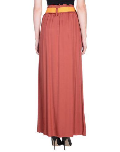 Фото 2 - Длинная юбка от RUE•8ISQUIT кирпично-красного цвета