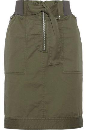 3.1 PHILLIP LIM Cotton-blend twill skirt
