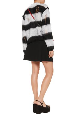 SONIA RYKIEL Crepe mini skirt