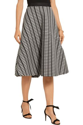 LELA ROSE Jacquard skirt