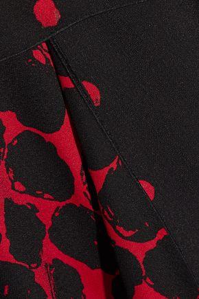 PROENZA SCHOULER Printed crepe maxi skirt