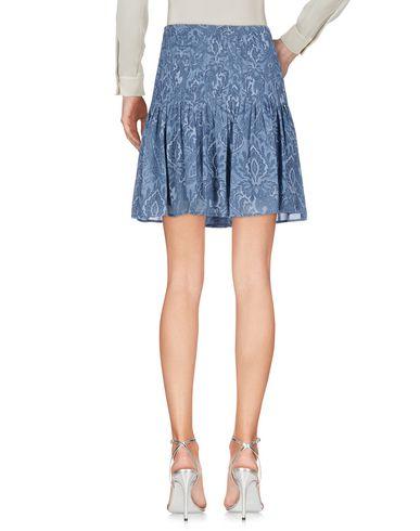 Фото 2 - Мини-юбка грифельно-синего цвета