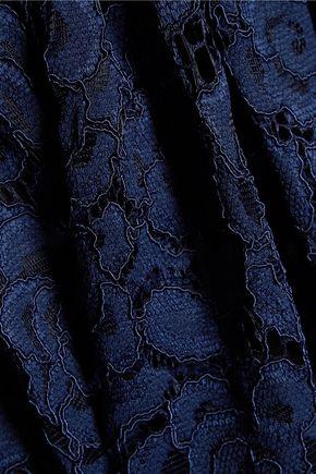 ALICE + OLIVIA Tamia macramé lace skirt