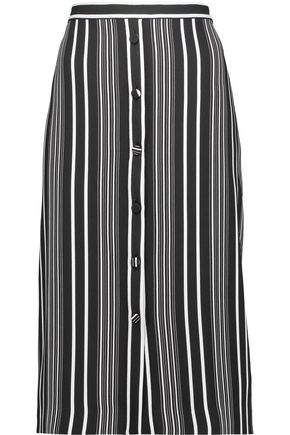ALTUZARRA Balthazar striped crepe skirt