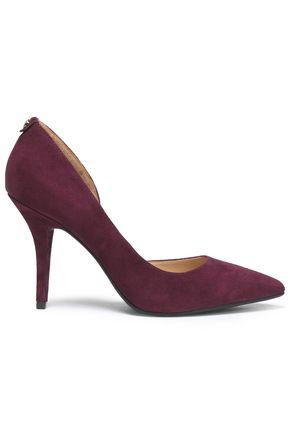 MICHAEL MICHAEL KORS Edie crystal-embellished velvet slippers