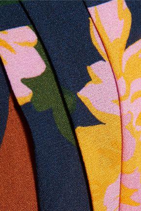 ROKSANDA Arlanda printed silk-georgette maxi skirt