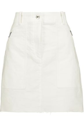 RAG & BONE Grace cotton-twill mini skirt