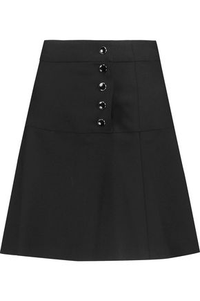 VANESSA SEWARD Wool-blend mini skirt