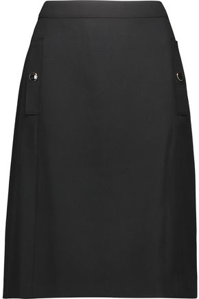 VANESSA SEWARD Wool-canvas mini skirt