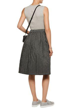 ACNE STUDIOS Pimlico printed cloqué skirt