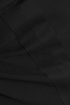HALSTON HERITAGE Asymmetric chiffon skirt