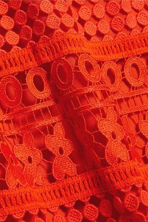 DIANE VON FURSTENBERG Tiana guipure lace skirt