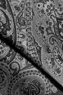 BALMAIN Metallic jacquard mini skirt