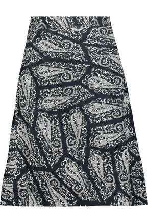 A.P.C. Printed cotton skirt