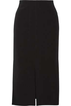 ROLAND MOURET Epirus stretch-crepe skirt