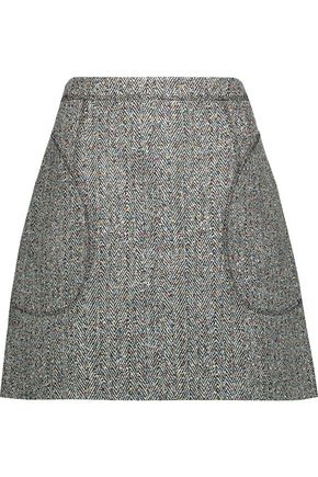 CHRISTOPHER KANE Bouclé mini skirt