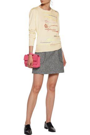 CHRISTOPHER KANE Bouclé mini skirt