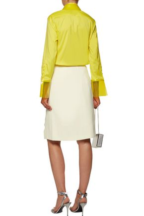 CHRISTOPHER KANE Cutout crepe skirt