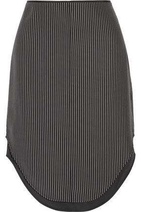 RAG & BONE Madison layered striped silk skirt