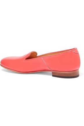 DIEPPA RESTREPO Dandy patent-leather slippers