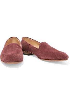 DIEPPA RESTREPO Dandy suede slippers