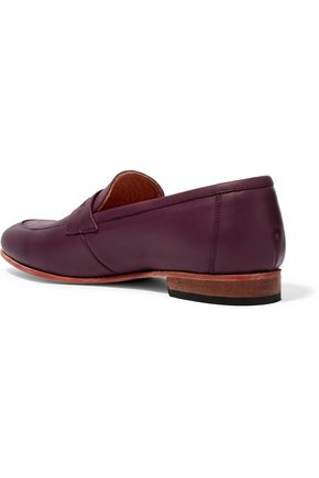DIEPPA RESTREPO Leather loafers