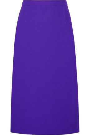 ROLAND MOURET Arreton wool-crepe pencil skirt